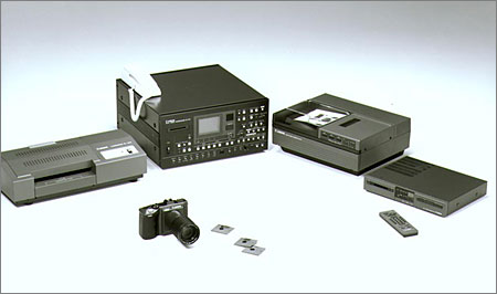 canon RC-701 still video system 1984