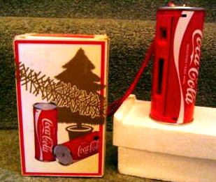 coco-cola christmas edition can camera