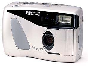 hewlett-packard photosmart c30 vintage digital camera