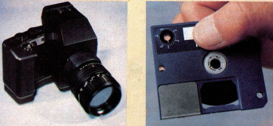 hitachi still video camera prototype 1984