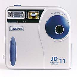 jenoptic jd 11 entrance vintage digital camera 1998