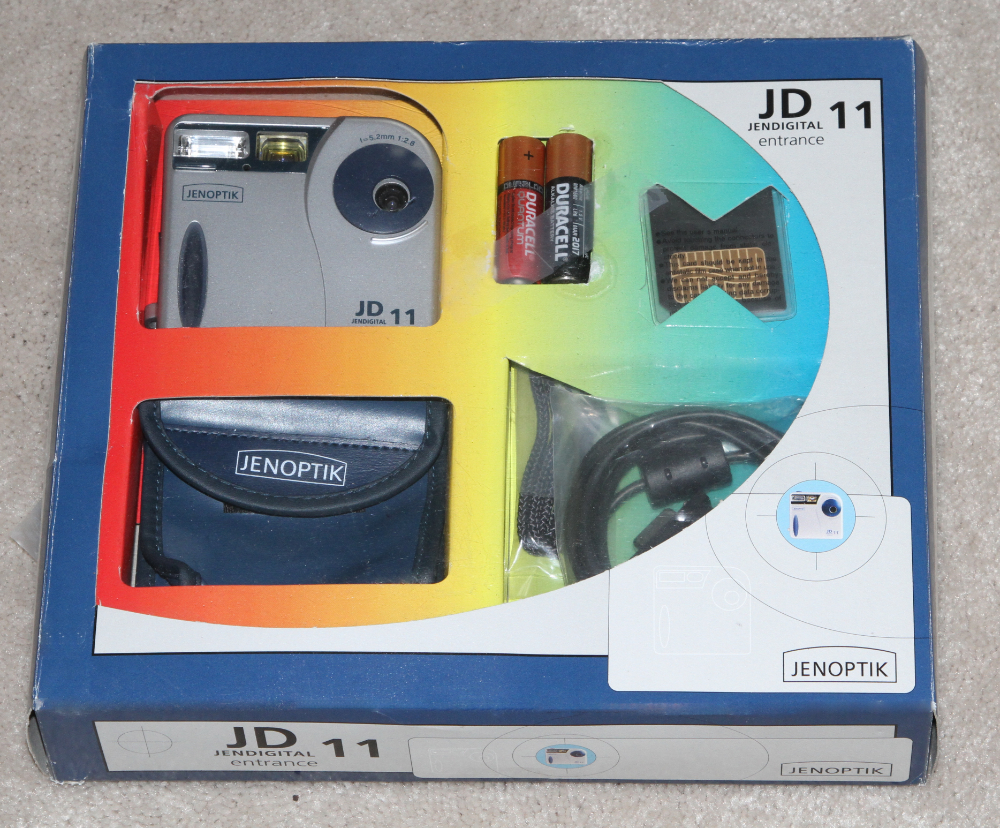 Jenoptik JD 11 Entrance digital camera kit