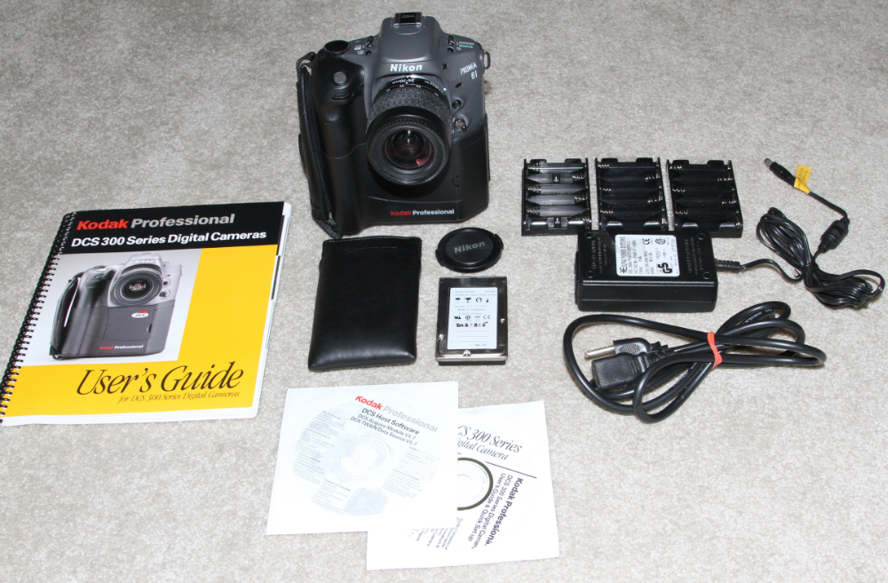 Kodak DCS 315 digital camera kit