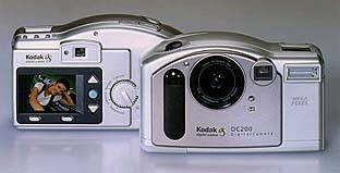 kodak dc200 vintage digital camera 1998