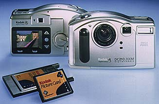Kodak DC210 digital camera
