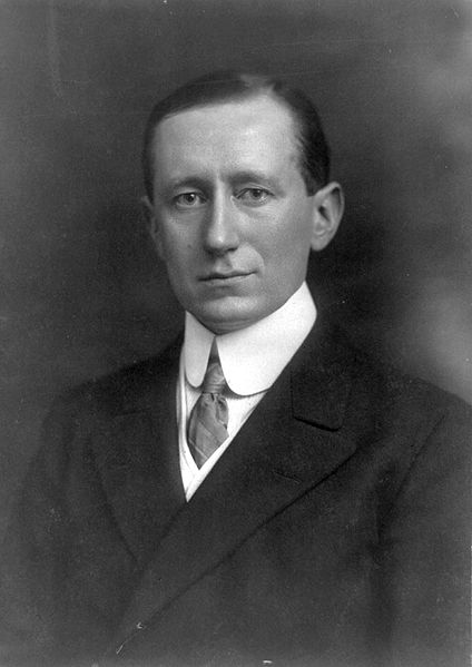 guglielmo marconi, first transatlantic broad cast of an electromagnetic signal