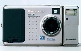 panasonic nv-dcf2, coolshot II lk-req1z, rq1y digital camera 1997