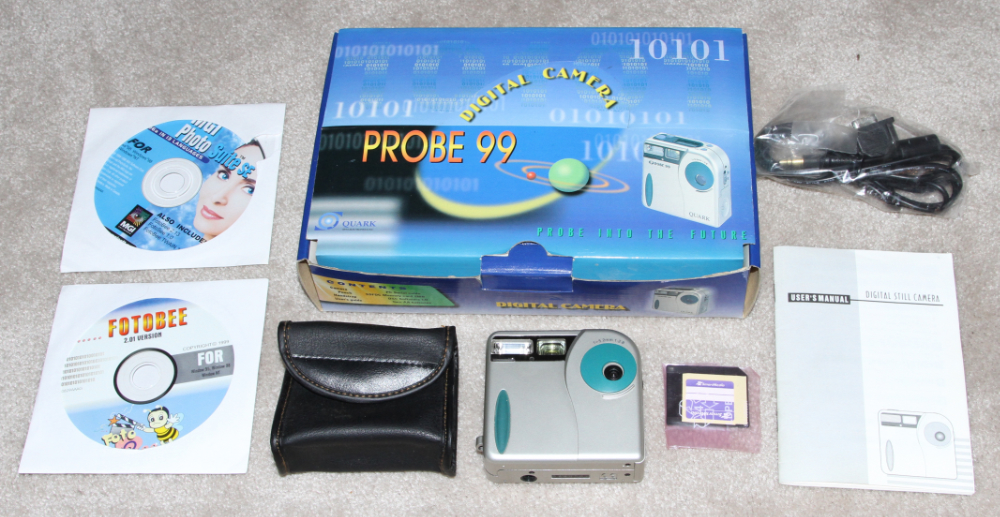 Probe 99 digital camera kit