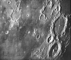 first spacecraft photo of the moon 1964