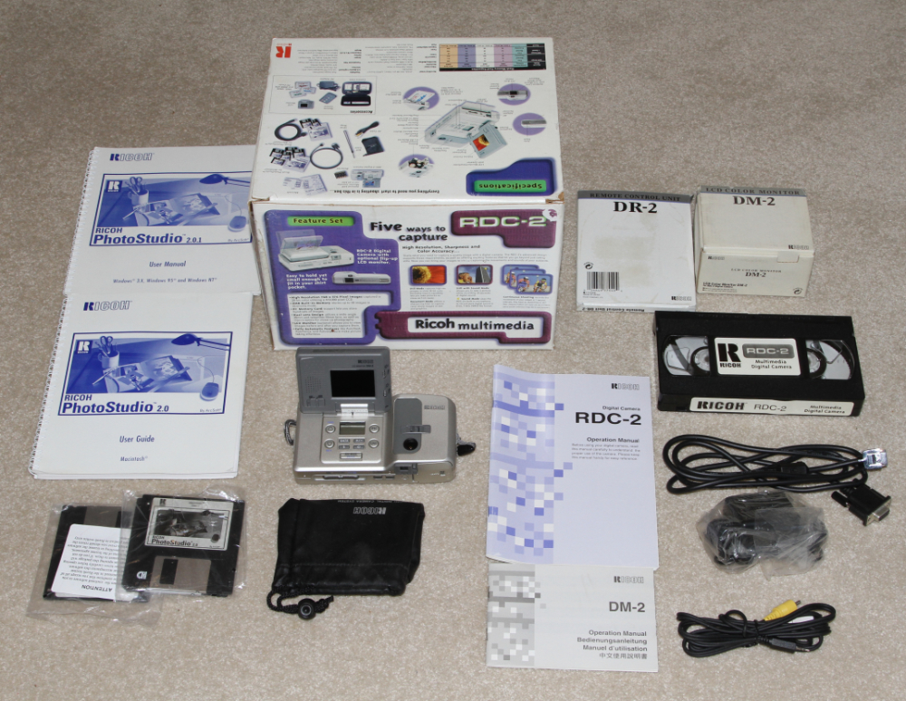 Ricoh RDC-2 digital camer kit