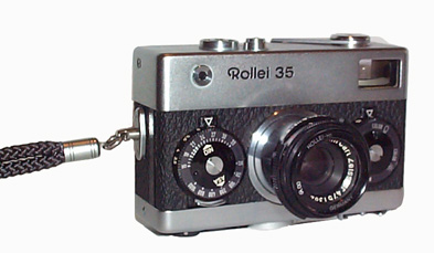 Rollei35, world's smalles 35 mm film camera 1966