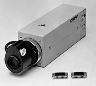 Sony XC-1 first CCD color videocam
